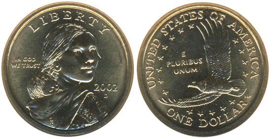 2002 Sacagawea Dollar