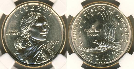 2007 Sacagawea Dollar