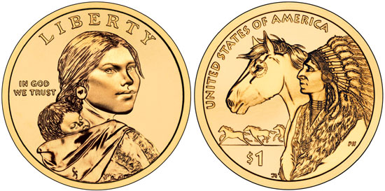 2012 Sacagawea Dollar