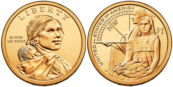 2014 Sacagawea Dollar