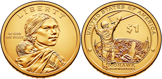 2015 Sacagawea Dollar