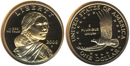 Proof Sacagawea Dollar