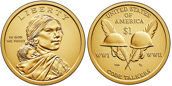 2016 Sacagawea Dollar