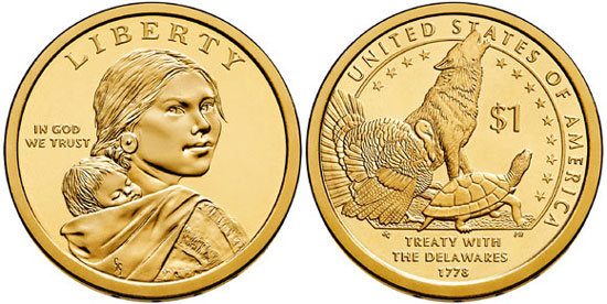 2013 Sacagawea Dollar